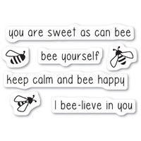 Memory Box Stamps - Bee Yourself