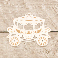 Couture Creations Dashing Ballroom Cut & Foil Die - Gorgeous Carriage