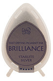 Dew Drop Brilliance Inks - Metallic Starlight Silver