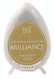 Dew Drop Brilliance Inks - Pearlescent Olive