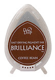 Dew Drop Brilliance Inks - Coffee Bean, Matte Finish