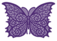 Simply Defined July 2018 Release Dies Set - Nothing to Be Afraid Of Collection, Gothic Butterfly