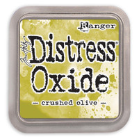 Tim Holtz Distress Oxide Ink Pads by Ranger - Crushed Olive