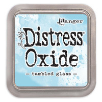Tim Holtz Distress Oxide Ink Pads by Ranger - Tumbled Glass