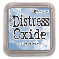 Tim Holtz Distress Oxide Ink Pads by Ranger - Stormy Sky