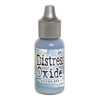 Tim Holtz Distress Oxide Reinkers by Ranger - Stormy Sky