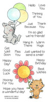 Inky Antics Clear Stamps Furry Friendship (Coordinates with IA-SOS100)