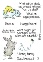 Inky Antics Clear Stamps Easter Riddles #1 (Coordinates with IA-SOS102)