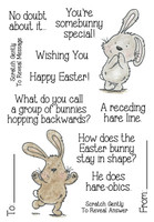 Inky Antics Clear Stamps Easter Riddles #2 (Coordinates with IA-SOS102)