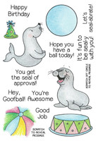 Inky Antics Clear Stamps Balancing Seals (Coordinates with IA-SOS104)