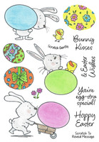 Inky Antics Clear Stamps Egg-cellent Bunnies (Coordinates with IA-SOS108)