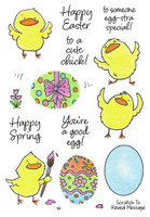 Inky Antics Clear Stamps Egg-cellent Chicks (Coordinates with IA-SOS108)