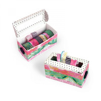Sizzix Bigz L Die by Courtney Chilson - Washi Tape Box