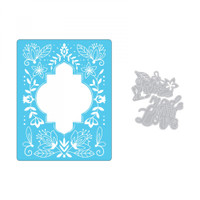 Sizzix Impresslits Embossing Folder by Katelyn Lizardi - Made with Love