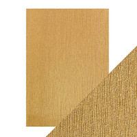 Tonic Studios - Craft Perfect - Luxury Embossed Card A4 (5/PK) - Cinnamon Silk