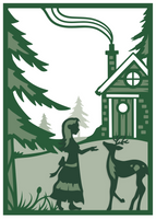 Simply Defined August 2018 Release Dies Set - Over The River and Through The Woods, Elizabeth's Fawn