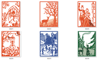 Simply Defined August 2018 Release - Over The River and Through The Woods, 6 Sets In A Bundle