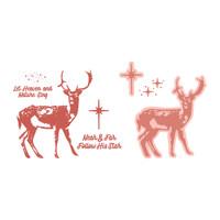 Simply Defined August 2018 Release Stamps and Dies Set - Heavenly Deer