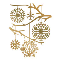 Simply Defined August 2018 Release HotFoil Stamps - Snowflake Background