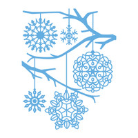 Simply Defined August 2018 Release Stamp Set - Snowflake Background