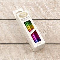 "Couture Creations Foil 5""X16.4'  -  Rainbow Bands (Gradient Mirror Finish)"