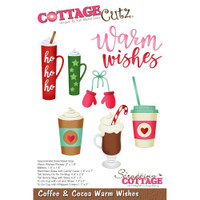 CottageCutz Dies - Coffee & Cocoa Warm Wishes
