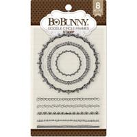 Bobunny Stamps - Doodle Circle Frames