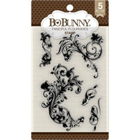 Bobunny Stamps - Fanciful Flourish