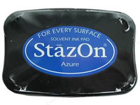 StazOn Permanent Ink Pad - Azure