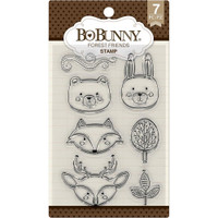 Bobunny Stamps - Forest Friends