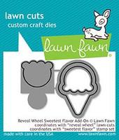 Lawn Fawn Dies - Reveal Wheel Sweetest Flavor Add On