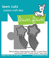 Lawn Fawn Dies - Reveal Wheel Shooting Star Add-On