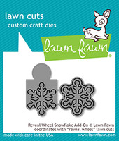 Lawn Fawn Dies - Reveal Wheel Snowflake Add-On