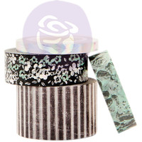 Prima Marketing, Flirty Fleur Decorative Tape 4/Pkg