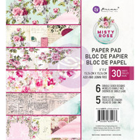 Prima Marketing, Misty Rose Double-Sided 6X6 Paper Pad