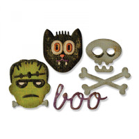 Sizzix Sidekick Side-Order Set By Tim Holtz - Halloween