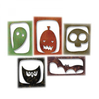 Sizzix Thinlits Die Set 5PK by Tim Holtz - Halloween Hangouts