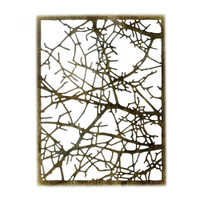 Sizzix Thinlits Die  by Tim Holtz - Tangled Twigs