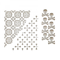 Sizzix Thinlits Die Set 3PK  by Tim Holtz - Mixed Media Halloween #2