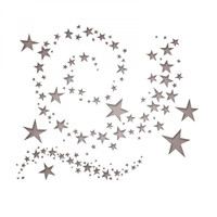 Sizzix Thinlits Die Set 9 PK by Tim Holtz - Swirling Stars