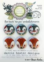 Darcie's Heart & Home Tin Pins - Snow Much Joy