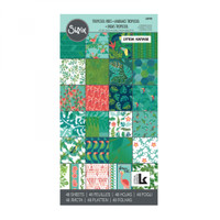 "Sizzix Paper 6"" x 12"", 48 Sheets Cardstock Pad By Lynda Kanase - Tropicool Vibes"