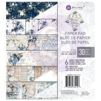 Prima Marketing, Georgia Blues Double-Sided 6X6 Paper Pad