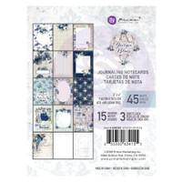 "Prima Marketing, Georgia Blues Journaling Cards Pad 3""X4"" 45/Pkg"