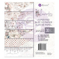 Prima Marketing, Lavender Frost Double-Sided 6X6 Paper Pad