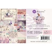 "Prima Marketing, Moon Child Journaling Cards Pad 4""X6"" 45/Pkg"