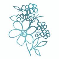 Couture Creations Le Petit Jardin - Floral Arrangement 1 HotFoil Stamp