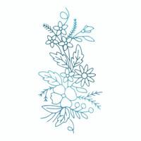 Couture Creations Le Petit Jardin - Floral Arrangement 3 HotFoil Stamp