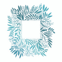 Couture Creations Le Petit Jardin - Wild Frame HotFoil Stamp