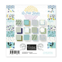 Couture Creations Le Petit Jardin - 6 x 6 Paper Pad
